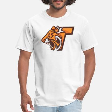 Teleporter Teleportation tiger head - Men's T-Shirt