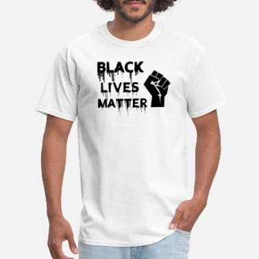 Black Lives Matter - Stop Racism - USA - BLM - Men's T-Shirt