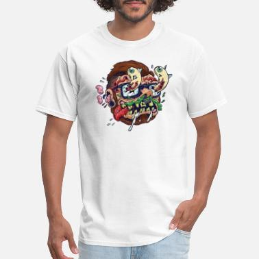 Swag Snowboard Crazy Skater Swag - Men's T-Shirt