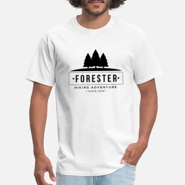 Trees Forest Tree Forester - Men's T-Shirt