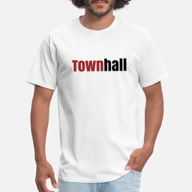 Chinese Townhall - Men's T-Shirt