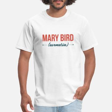 María Colombian English - Mary bird - Men's T-Shirt