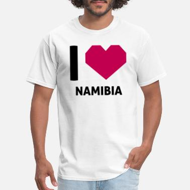 Namibia I Love Namibia - Men's T-Shirt