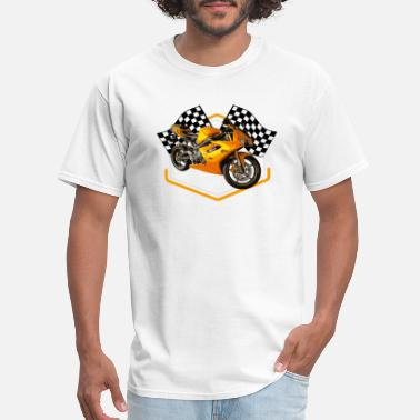 60s Car Racing Hot Rod Racing Car / Gift Idea - Men's T-Shirt