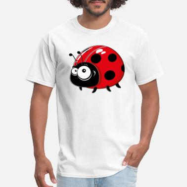 Cartoon Cartoons-funny-Ladybug - Men's T-Shirt