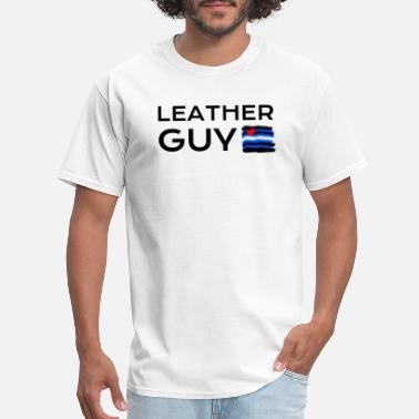 Gay Guys Leather Guy LGBT Gay - Men's T-Shirt