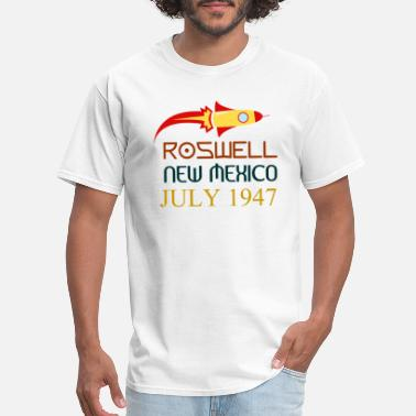 New Roswell New Mexico july 1947 - Men's T-Shirt