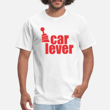 Lever car lever - Men's T-Shirt