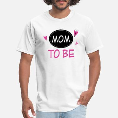 Mom To Be Mom To Be Announcement Butterfly - Men's T-Shirt