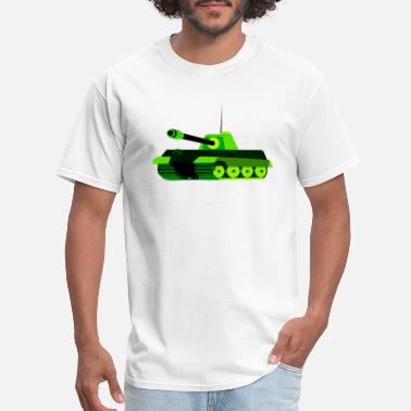 World War 2 Tanks panzer tank war krieg tanque military militaer3 - Men's T-Shirt