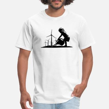 Wind Energy Winds Of Change - Men's T-Shirt