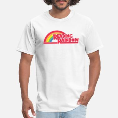 Reading Reading Rainbow - Men's T-Shirt