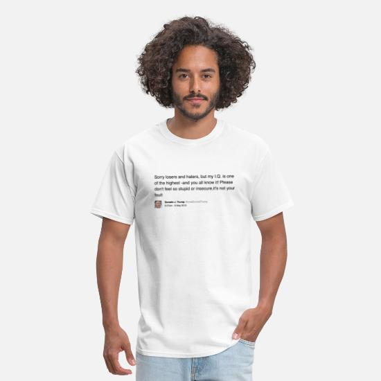 Trump T-Shirts - IQ - Men's T-Shirt white