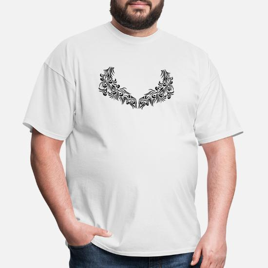 Pattern Tattoo Colorful Decorative Bird Peacock Ph Men S T Shirt