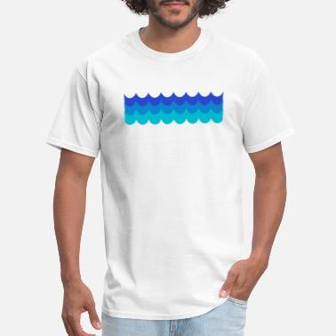 Waves Parties waves - Men's T-Shirt