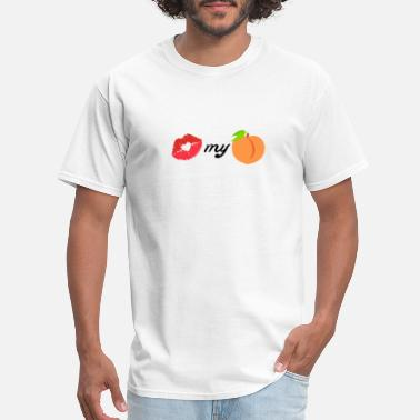 Emoji kiss my peach - Men's T-Shirt