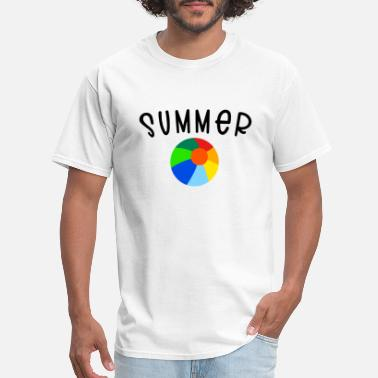 Beachball SUMMER beachball - Men's T-Shirt