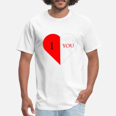 I LOVE YOU T-Shirt Gift - Men's T-Shirt