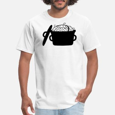 Strawberry Jam jam stew pot cook many strawberries 3 fruity delic - Men's T-Shirt