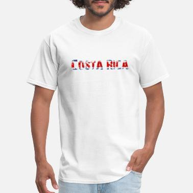National Colours Costa Rica - National Colours - Flag - Slogan - Men's T-Shirt