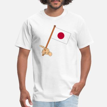 Japan Flag Japan Flag - Men's T-Shirt