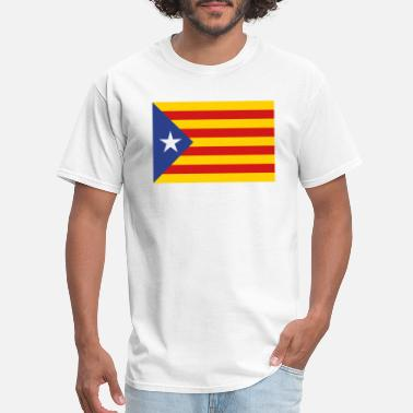 Flag Of Catalunya Catalunya Flag - Men's T-Shirt