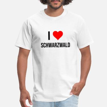 Loves You Schwarzwald! - Men's T-Shirt