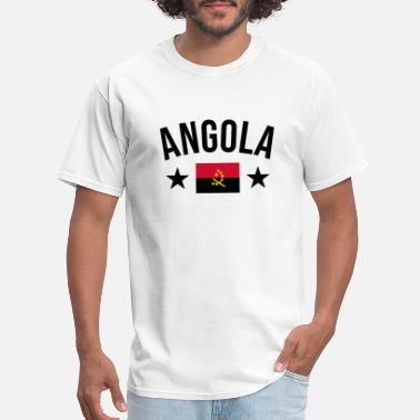 Lovely Funny Angola Saying for Angolans as a gift idea - Men's T-Shirt