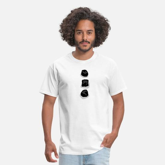 1745a8eb Snowman TShirt for Kids Buttons Coal Christmas Men's T-Shirt ...