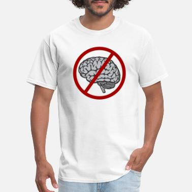 Idiocracy Idiocracy No Brain - Men's T-Shirt