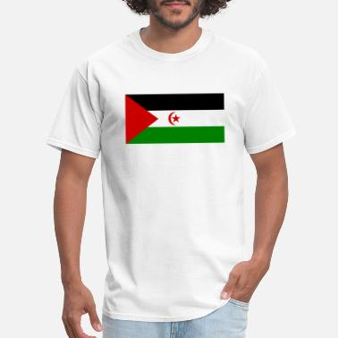 Love In Arabic Symbol Arabic States country flag love my land patriot - Men's T-Shirt