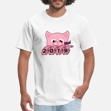 Year of the pig 2019 - Men's T-Shirt