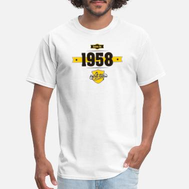 Born In Born in 1958 - Men's T-Shirt