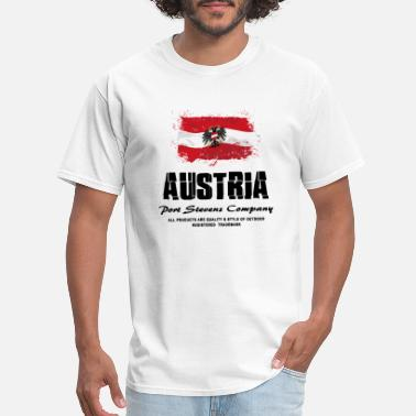 Austria Austria Flag Logo - Men's T-Shirt