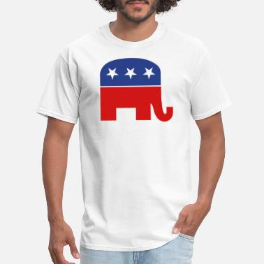 Republican Party Republican elephant - Men's T-Shirt