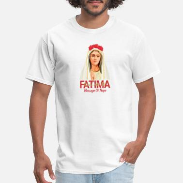 Our Lady Church Our Lady Of Fatima - Men's T-Shirt