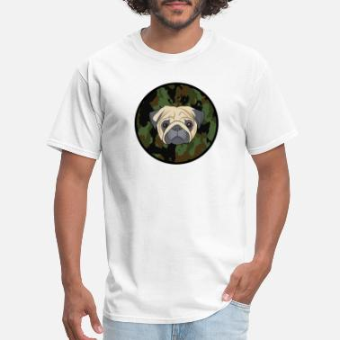 Dogowner dog dogs pug dogowner doglover present presentidea - Men's T-Shirt