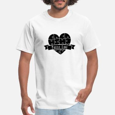 Tricky Puzzle Puzzles Tricky Love Relationship Gift - Men's T-Shirt