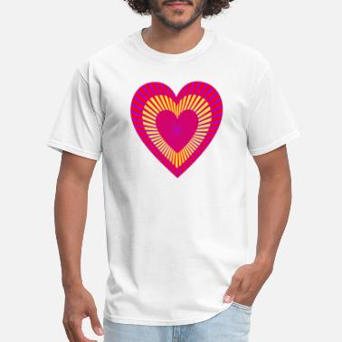 Hearts Apart Two hearts 5 - Men's T-Shirt