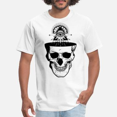 Bones Rock N Roll Dead But Awake - Men's T-Shirt