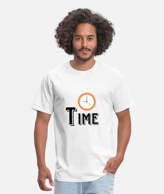 Stench T-Shirts - Time - Men's T-Shirt white