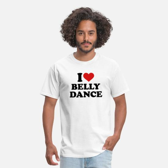 Belly T-Shirts - Belly dance - Men's T-Shirt white