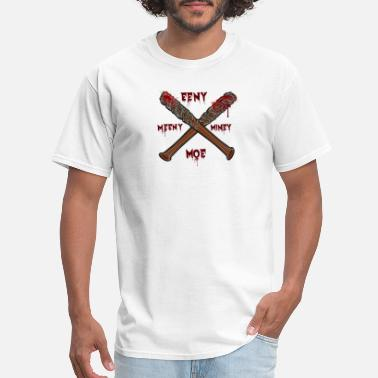 Moe the wlkng dead negan lucille tshirt - Men's T-Shirt