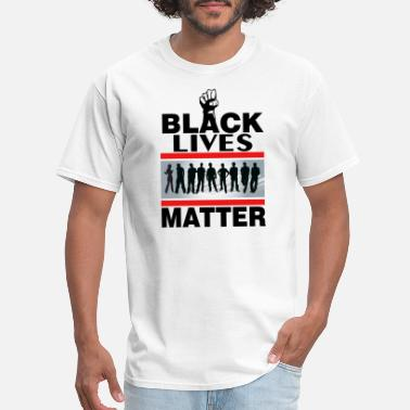 Male Black lives matter design - Men's T-Shirt