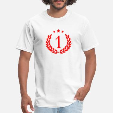 Bronzing #1 Medal - Men's T-Shirt
