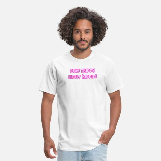 Weed T-Shirts - Drug Trip | Hippie Peace Love LSD Weed | Gift Idea - Men's T-Shirt white