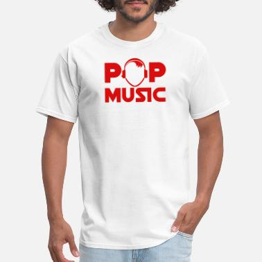 Pop Star pop music - Men's T-Shirt