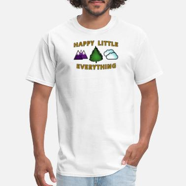 Mister Rogers Happy Little Everything - Men's T-Shirt