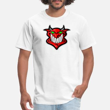 Basketball Devil Devil Demon Basketball Baseball Icon Symbol Gift - Men's T-Shirt