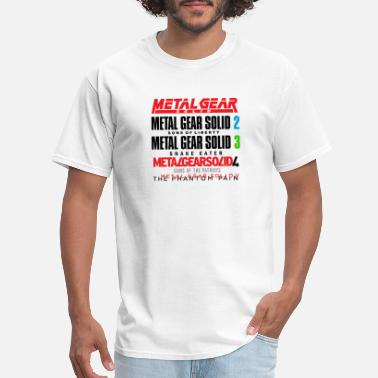 Solid Metal Gear Solid History - Men's T-Shirt